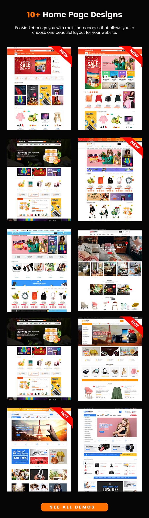 SW BosMarket - WooCommerce Theme