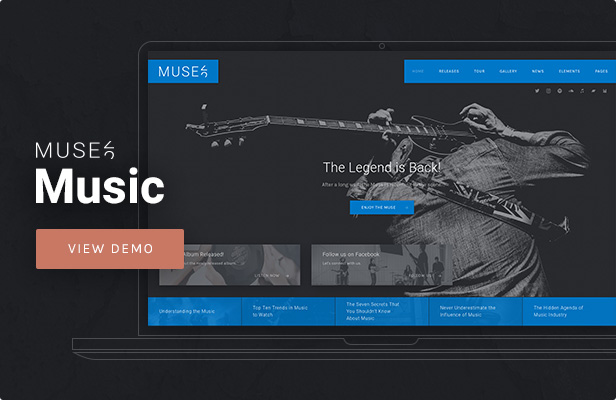 Muse - Music WordPress Theme