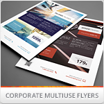 Multipurpose Corporate Flyers, Magazine Ads vol 10