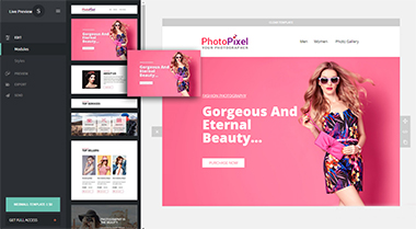 Webwall- 370+ Modules - Responsive Email Template + Builder - 2