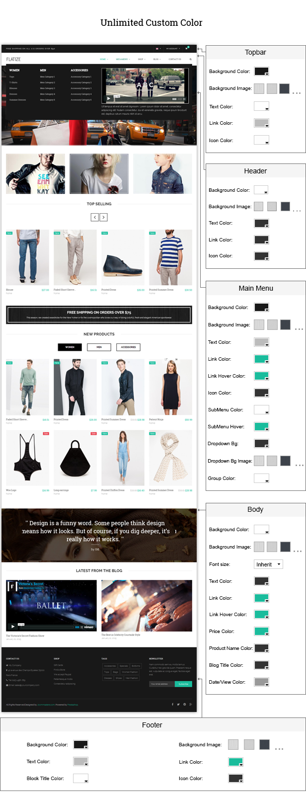 JMS Flatize - Fashion Responsive Prestashop Theme - 10
