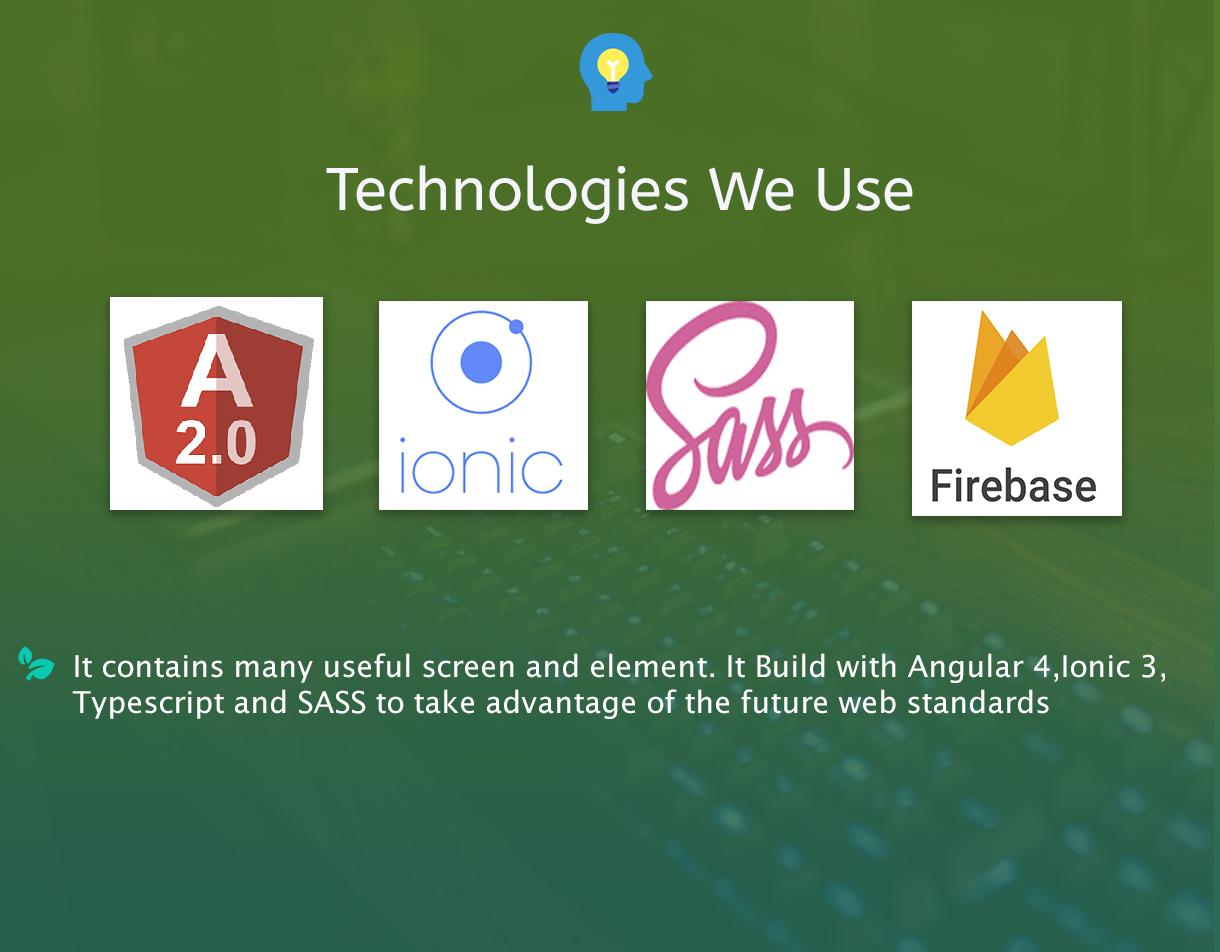 Firebase özellikli Ionic 3 Restaurant uygulaması - 6