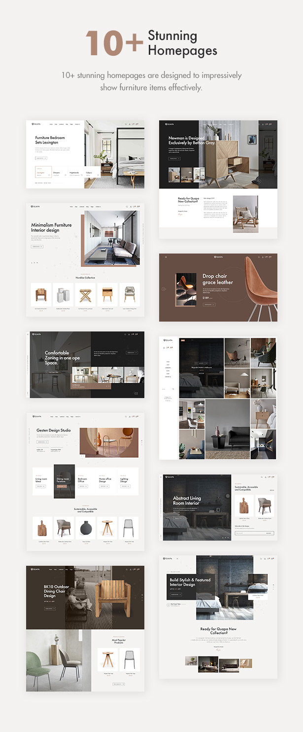 Quapa Furniture Woocommerce Wordpress Theme