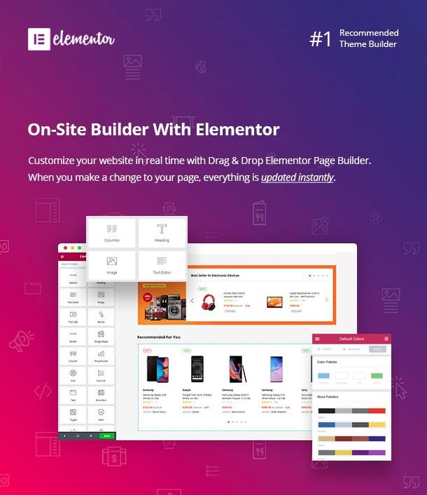 Besa – Elementor Marketplace WooCommerce WordPress Theme