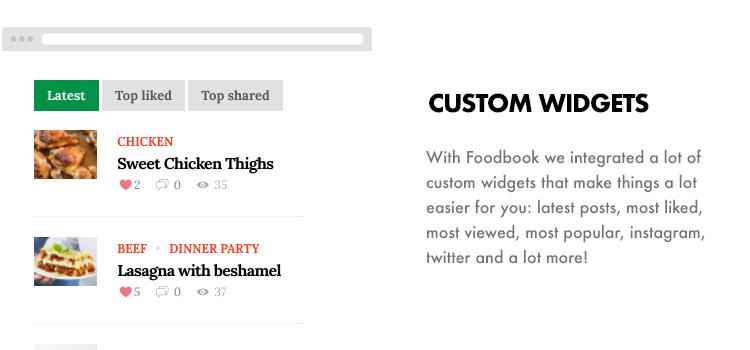 Foodbook - Receita da Comunidade, Blog, Food & Restaurant Theme - 16