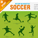 Soccer Silhouettes - 6