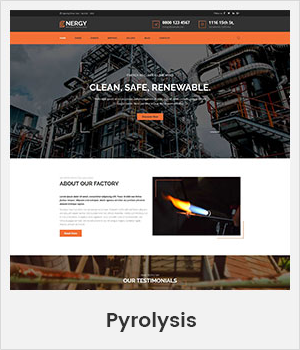 Pyrolysis WordPress theme