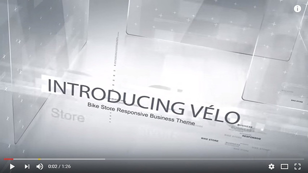 velo video on Youtub