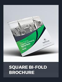 Square Brochure - 10