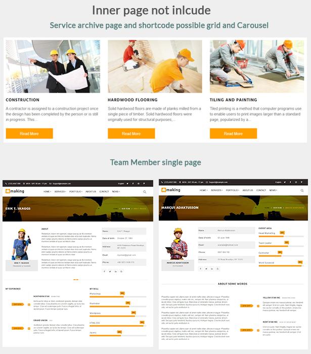 Construct - Construction WordPress Theme - 3