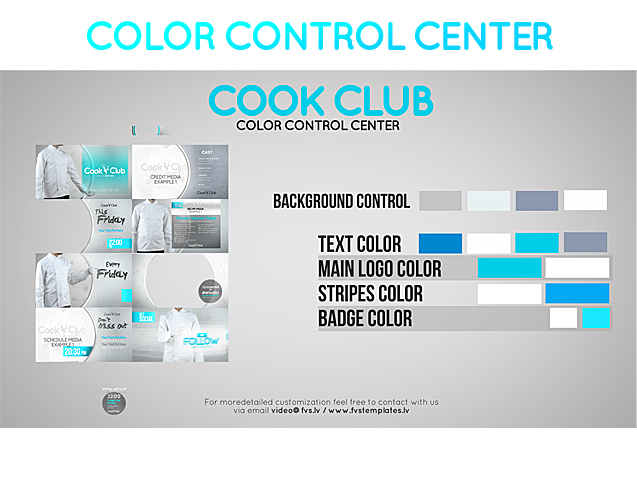 Cook Club Broadcast Package - 1