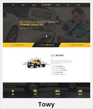 Towy WordPress theme