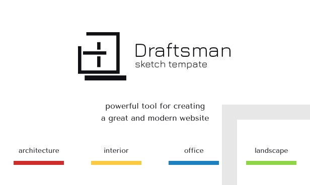 Draftsman - Architecture and Interior Sketch Template - 1
