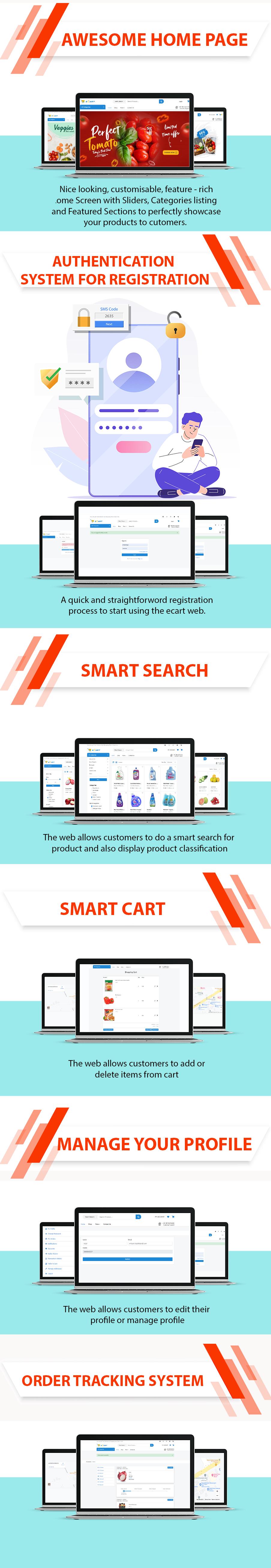 eCart Web - Ecommerce/Store Full Website - 9