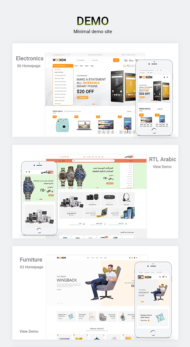 Wooxon - WooCommerce WordPress Theme by themepiko | ThemeForest