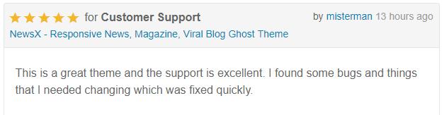 NewsX - Responsive News, Magazine, Viral Blog Ghost Theme - 9