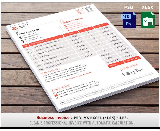 Minimal Business Card 001 - 1
