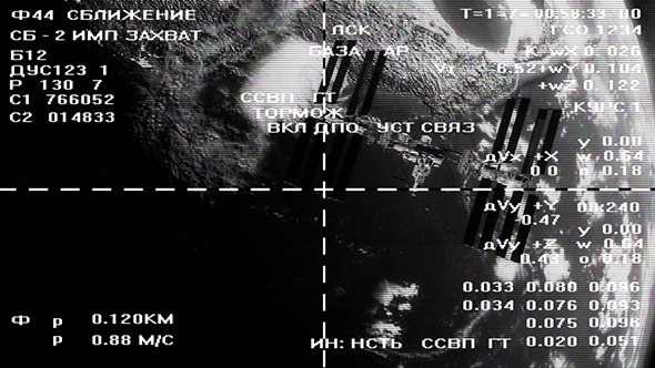 Asteroids Passing Close Space Station - 10