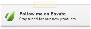 Follow me on Envato