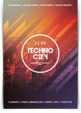 Techno City Flyer