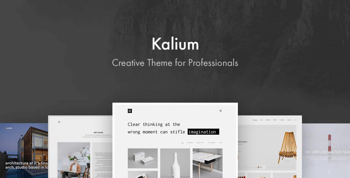 Kalium WordPress and WooCommerce Theme