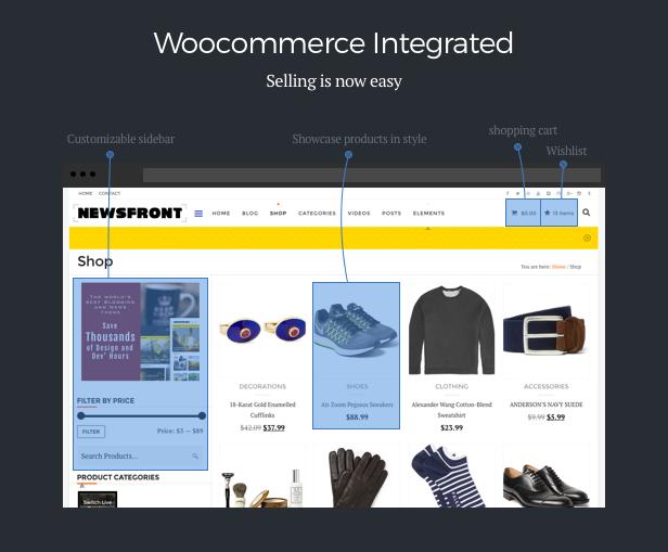 NewsFront: Blog, News & Editorial eCommerce WordPress Theme - 9