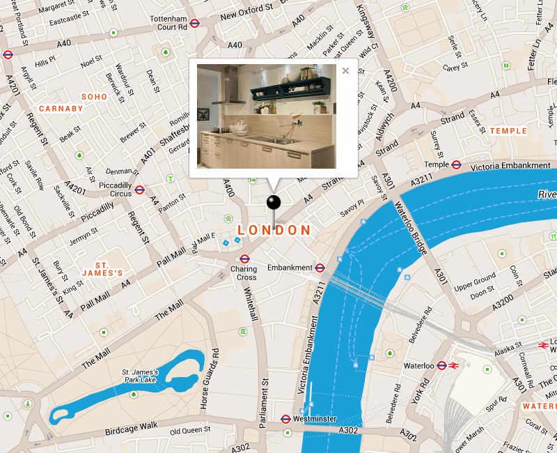 Google Maps with Infowindow-Slideshow - 1