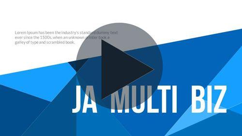Ja MultiBiz PowerPoint Presentation Template - 1