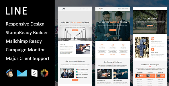 Primy - Multipurpose Responsive Email Template with Stampready Builder Access - 3