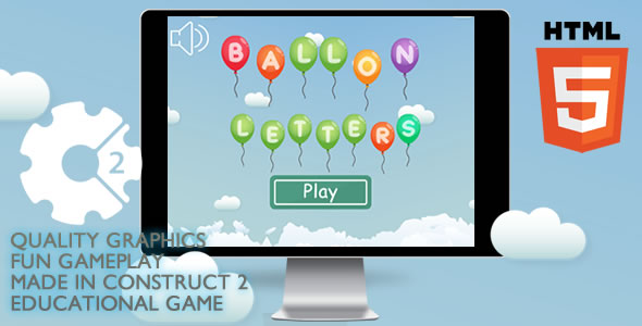 Ballon Letters Educational - CodeCanyon Item for Sale