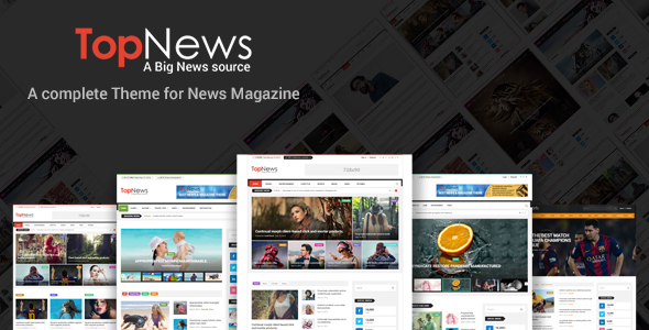 TopNews WordPress Theme
