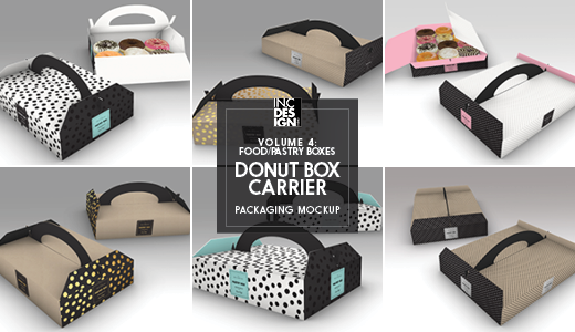 PastryBox4 Donut Carrier