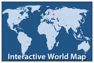 Interactive World Map