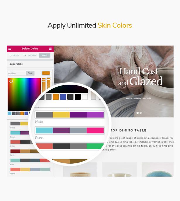Unlimited Skin Colors WooCommerce