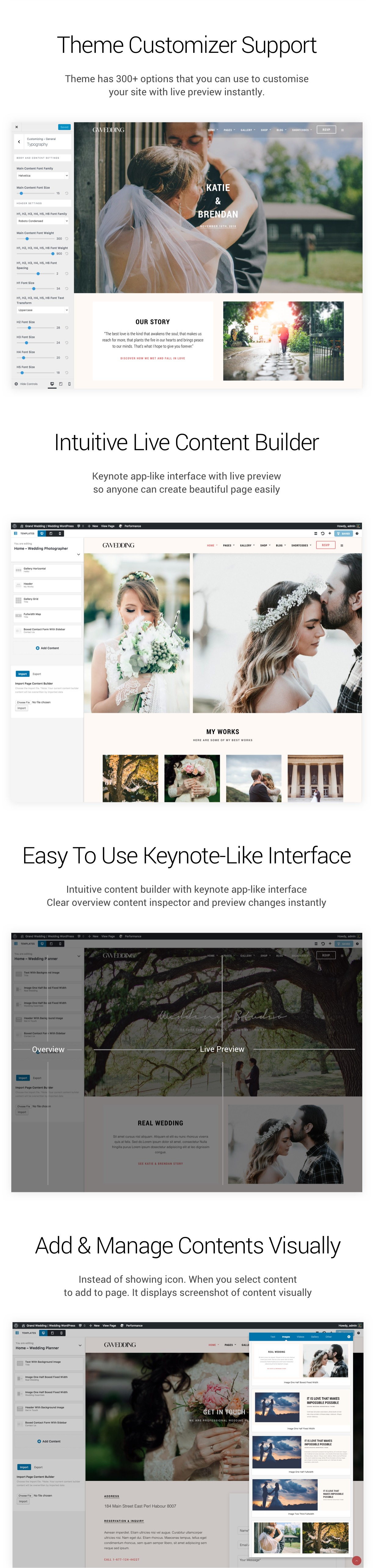 Grand Wedding | Wedding WordPress for Wedding