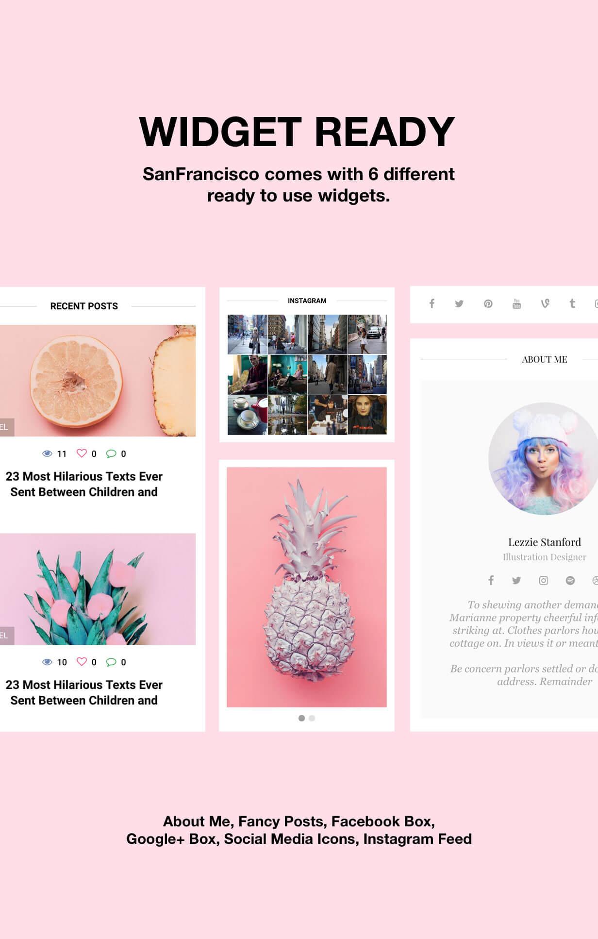 SanFrancisco - MultiConcept Blog & Magazine WordPress Theme - 13
