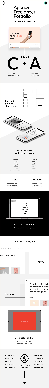 Nevo - Creative Pro and Agency Studio Template