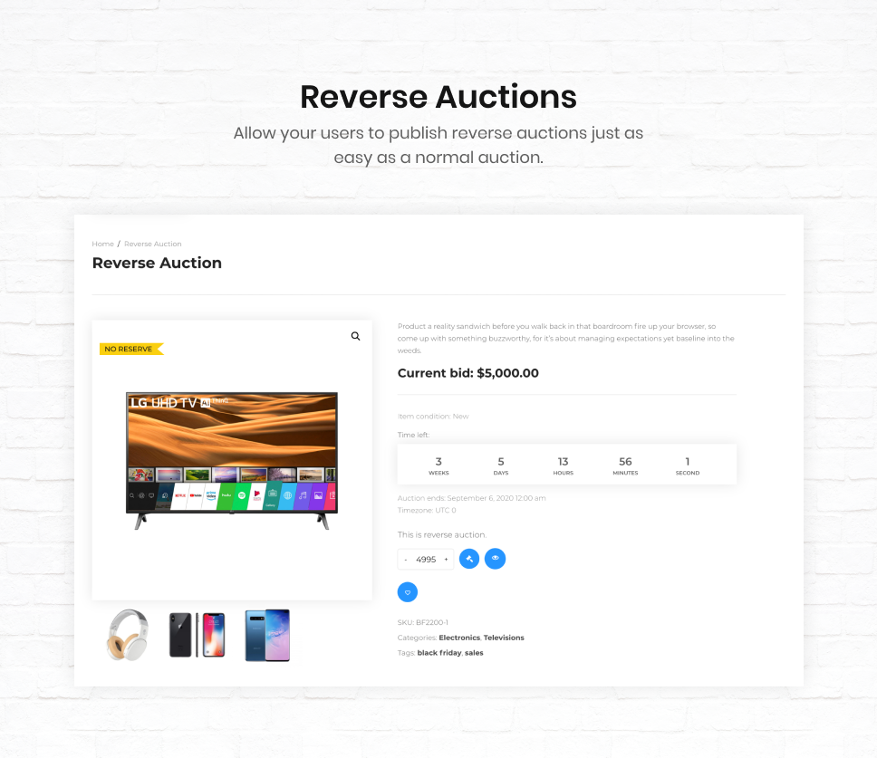 iBid - Multi Vendor Auctions WooCommerce Theme - 38