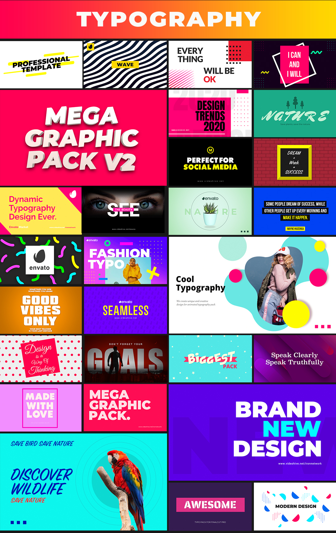 Mega Graphics Pack - 3