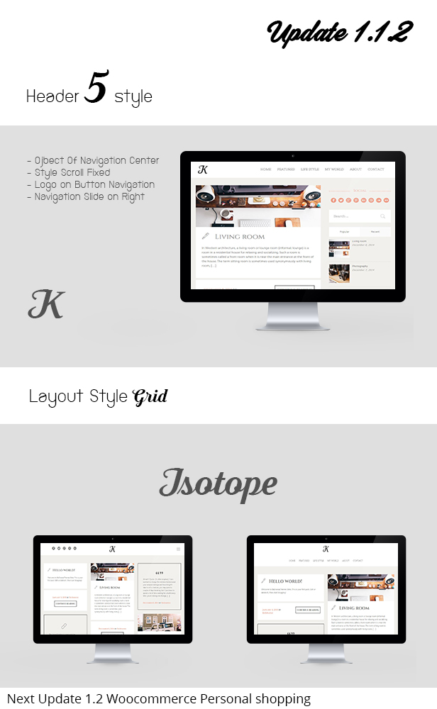 K-Theme - A Responsive WordPress Blog Theme - 1