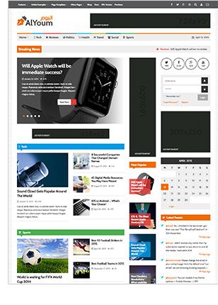 AlYoum   Retina Magazine and Blog WordPress Theme - 4