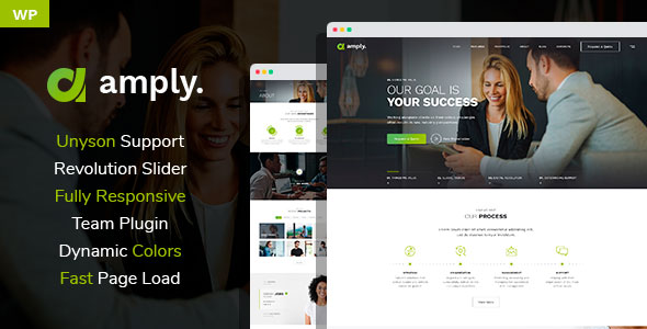 Amply - Web Design & Digital Business WordPress theme