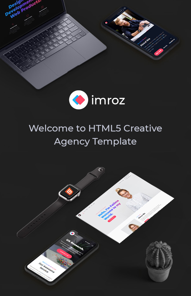 Imroz - Creative Agency and Portfolio Bootstrap Template - 6