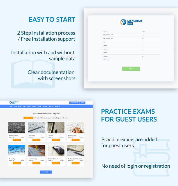 Menorah Exam System