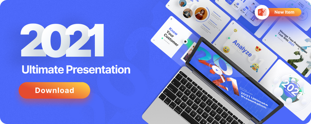 Gradient Holographic Powerpoint Presentation Template Fully Animated - 1
