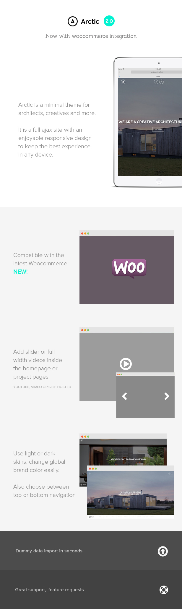 Arctic - Architecture & Creatives WordPress Theme - 4