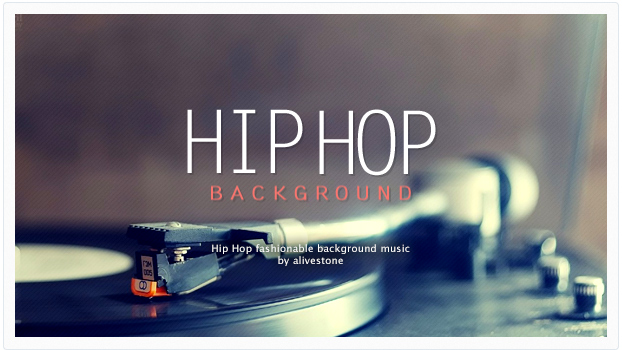hip hop background music