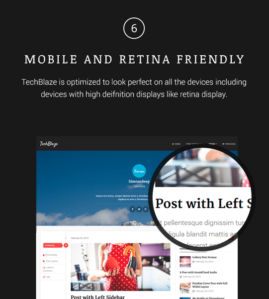 TechBlaze - Professional WordPress Blog Theme - 6