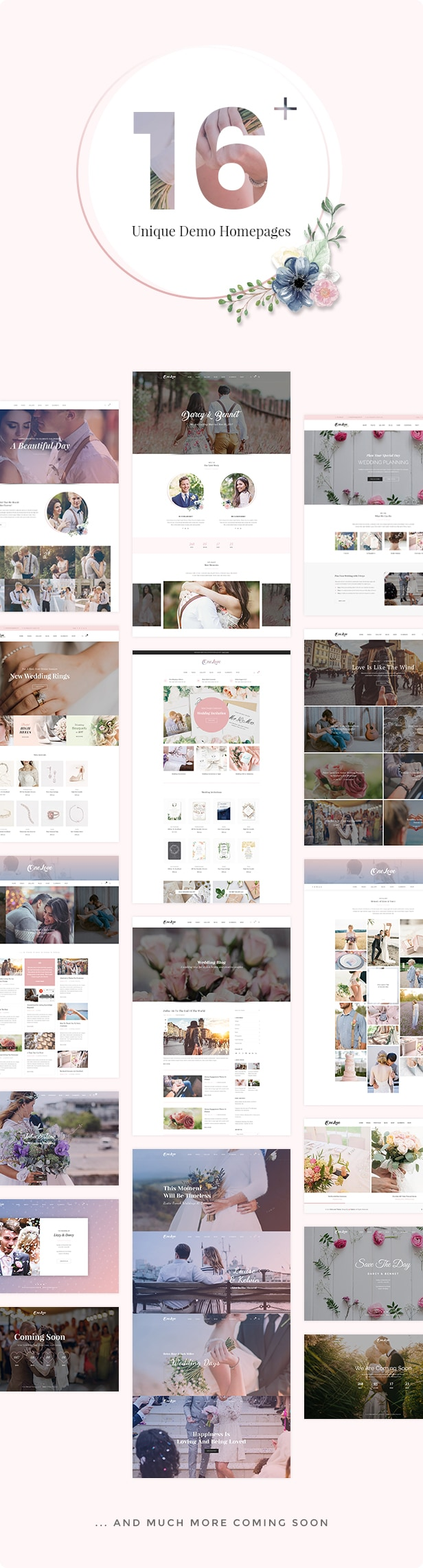OneLove WordPress Theme