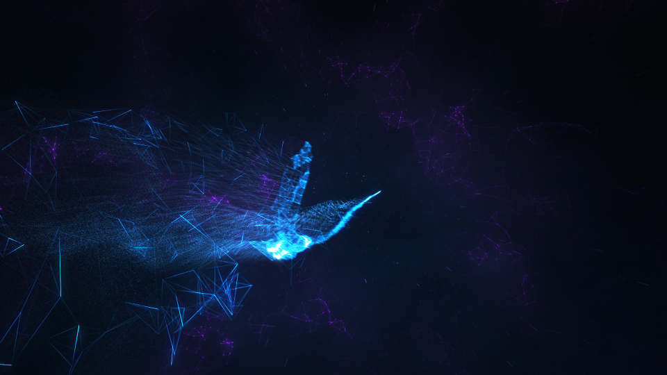Serenity | Abstract Bird Reveal - 2
